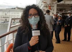 """Costa Crociere riparte da Trieste, Serena Tonel a Il Giornale d'Italia: """"E' un onore vedere la partenza della nave dalla nostra città"""""""