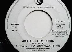 Severino Gazzelloni, il mitico flautista che suonava un flauto d'oro