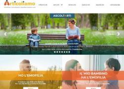 'Articoliamo', nuova sezione del sito dedicata ad impatti emotivi dell'emofilia