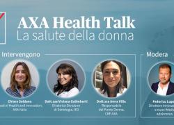 "Axa Italia inaugura il ciclo ""Axa Health Talk"""