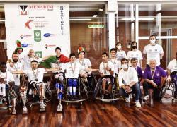 Basket, le volpi rosse Menarini campioni d'Italia