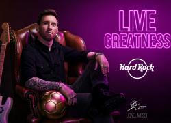 Hard Rock Cafe celebra 50° anniversario annunciando partnership con Messi