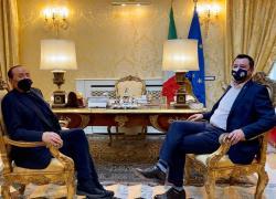 Lega e Forza Italia separati al 28,5%, uniti -4,7%: il sondaggio
