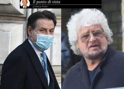 Tra Grillo e Conte scontro tra due torti, esiti grotteschi