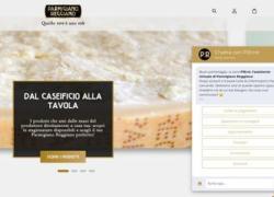 Online l'agente conversazionale per l'ecommerce del Consorzio Parmigiano reggiano sviluppato dalla startup Heres