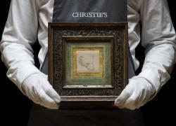 Orso di Leonardo da record, disegno venduto per 10 milioni di euro