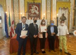Teatro, 'I mille del ponte' celebra i lavoratori del ponte di Genova