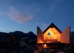 Una notte sotto le stelle con Airbnb nella mini casa sostenibile