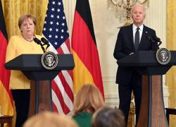 Usa-Germania, Merkel e Biden rilanciano alleanza