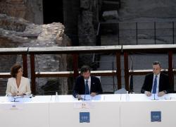 """G20 cultura a Roma, Draghi: """"Sostenerla è cruciale per ripartenza"""""""