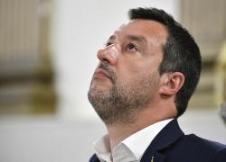"""Salvini a Olbia: """"Concerto Salmo? Non mi schiero, però..."""""""