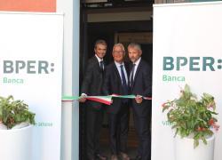 Inaugurata sede Bper a Medicina, operativa filiale in storico palazzo di piazza Garibaldi