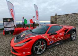 Barone 'batte' Google Maps, Roma-Capo Nord in Ferrari in meno di 49 ore