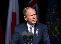 """11 settembre 2001, Bush: """"Orgogliosi della nostra nazione ferita"""""""