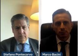 Afghanistan, Lectio dell'Amb. Stefano Pontecorvo con il Prof. Marco Bacini alla LUM School of Management