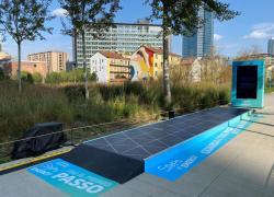 'Steps of Energy', a Milano l'installazione high-tech di Engie