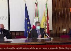 "16-01-21 Coronavirus, Musumeci: ""Sicilia zona rossa, decisione sofferta ma meditata"""