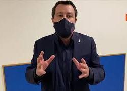 """Salvini: """"Basta con la compravendita dei Senatori, andare al voto e dare la parola agli italiani"""""""