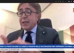 """Poste italiane, Lasco (Condirettore): """"Urgente priorità vaccini per portalettere e uffici postali"""""""