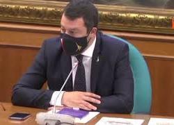"""Salvini: """"A Trento pronti a riaprire i ristoranti all'aperto entro questa settimana"""""""