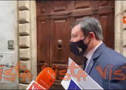 """Salvini: """"Spero si apra prima di maggio, ovunque ci siano dati per farlo"""""""