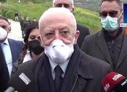 """De Luca: """"Situazione rimane delicata ma molti contagiati sono asintomatici"""""""