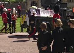 Kate Middleton indossa la collana di Diana ai funerali del Principe Filippo