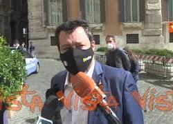 """Coprifuoco, Salvini: """"Spostarlo alle 23? Noi siamo per eliminarlo. Lo dicono i dati"""""""