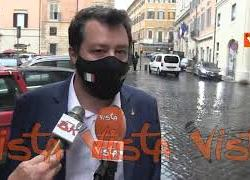 """Amministrative, Salvini: """"I nomi del centrodestra? Dateci qualche giorno"""""""