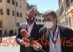 """Riaperture, Salvini: """"Vittoria degli italiani, abbiamo accompagnato strategia del rischio calcolato"""""""