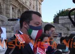 """Giustizia, Salvini: """"Referendum per riforma giusta e profonda era atteso da decenni"""""""