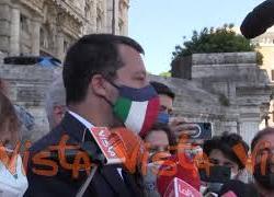 """Salvini: """"Con referendum giustizia processi più brevi e meno correnti nel Csm"""""""