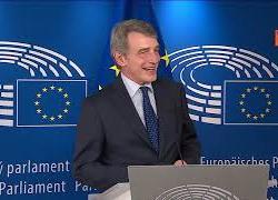 """Sassoli: """"Auguriamo successo a presidenza slovena"""""""