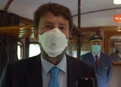 """Inaugurazione treno storico dedicato a Dante, Franceschini: """"Italia unita nel nome di Dante"""""""