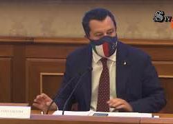 """Free speech, Salvini: """"Ormai conta più la policy di Facebook che l'articolo 21 della Costituzione"""""""