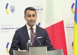 """Di Maio a Kiev: """"Da Italia pieno sostegno a integrità territoriale Ucraina"""""""
