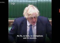 """Boris Johnson: """"Chi ha fatto razzismo online dopo Europei non andrà allo stadio"""""""