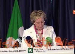 """Moratti: """"La riforma della legge sanitaria regionale avrà tempi certi"""""""