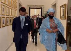 Il Ministro Di Maio incontra la vicesegretaria generale dell'Onu, le immagini