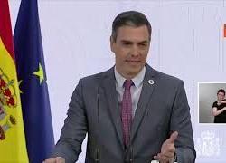 """Il premier spagnolo Sanchez: """"70% popolazione sarà immunizzata entro la fine dell'estate"""""""