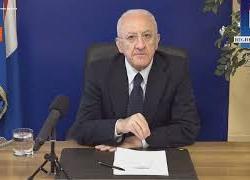 """Riforma della Giustizia, De Luca: """"Sceneggiata politica dei 5 Stelle"""""""