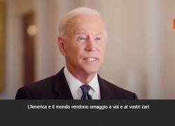 """SOTTOTITOLI - 11 settembre, Biden: """"L'America e il mondo onorano le vittime degli attentati"""""""