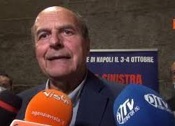 """Bersani: """"Salvini e Meloni si esprimano su manifestazioni 'no vax si dux'"""""""