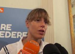 """Federica Pellegrini a Napoli: """"Tutti i bambini dovrebbero poter fare sport"""""""