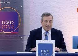 """Draghi: """"Contatti con talebani per crisi umanitaria, ma non significa riconoscimento"""""""