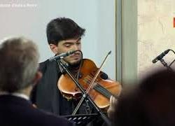 Mattarella all'ambasciata italiana a Berlino, il quartetto d'archi della Scala suona Inno di Mameli