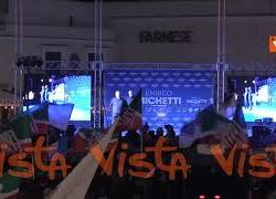 L'appello al voto di Silvio Berlusconi in collegamento con la piazza del centrodestra a Roma