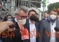 """Mai più fascismi, Landini: """"Grandissima manifestazione di popolo che parla a tutti"""""""