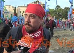 """""""Davvero emozionante"""", le voci della piazza antifascista di Roma"""