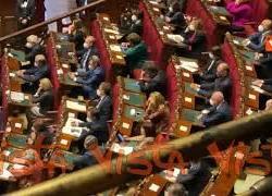 Letta in Aula al primo giorno da deputato per informativa Lamorgese